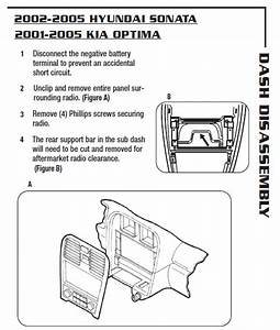 2003 Kia Optima Installation Parts Stereo Kits  Harness