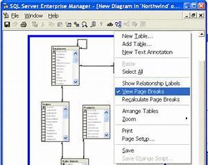Sql Server Enterprise Manager Tip  Printing Diagrams  Secretgeek Net