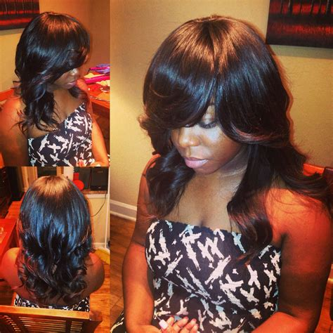 Sew In Hairstyles With No Hair Out by Sew In No Leave Out No Closure With Curls