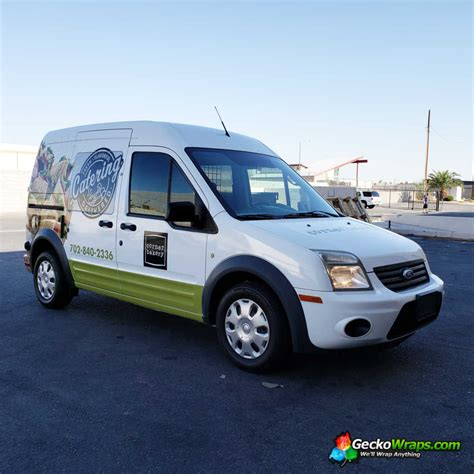 full wrap    ford transit connect geckowraps