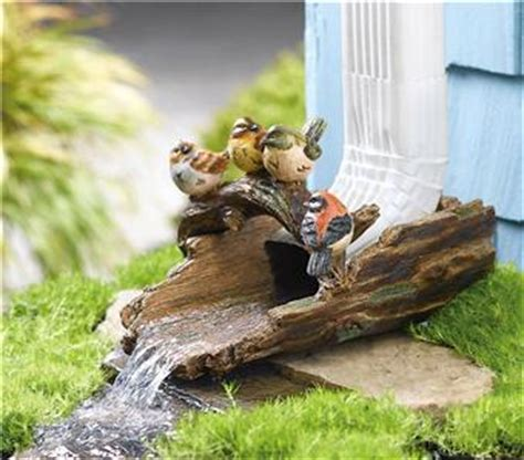 decorative gutter downspout extensions decorative bird gutter downspout new ebay