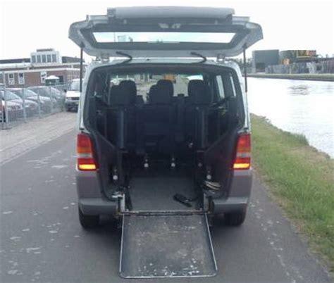 vehicle medical handicapped patient transport mercedes