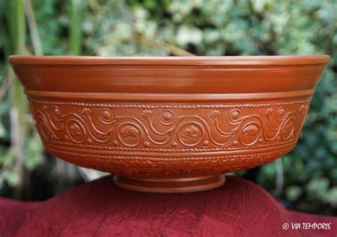 panier pour 騅ier cuisine ceramique gallo romaine bol sigillee du sud de la gaule dr 29 mod grand via