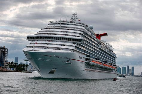 carnival sunshine cruise rolls over on side for 1 minute