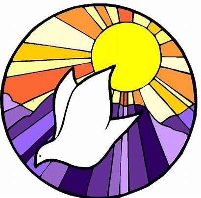 Baptism Symbols Symbol Clipart Jesus Dove Church