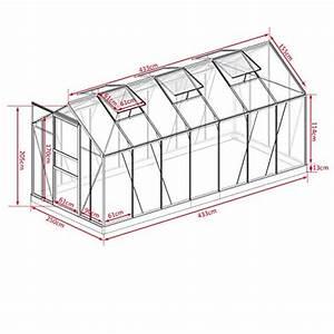 Gewächshaus Mit Fundament : aluminium gew chshaus mit stahlfundament 17 2 m alu ~ Watch28wear.com Haus und Dekorationen