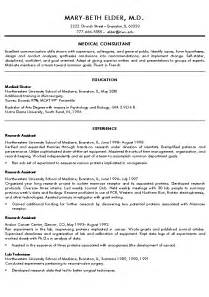healthcare resume summary exles doctor resume exle sle