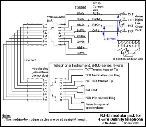 Telephone Wiring Systems Work Diagram Img