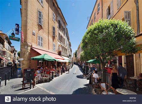 centre pma aix en provence cafes on rue d italie in the historic city centre aix en stock photo royalty free image