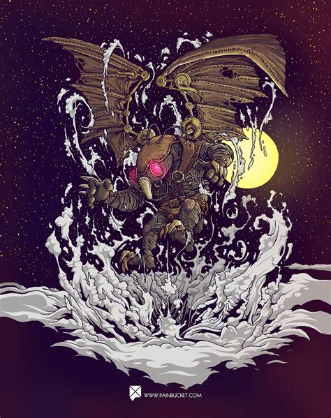 Bioshock Infinite Fan Art Songbird Painbucket