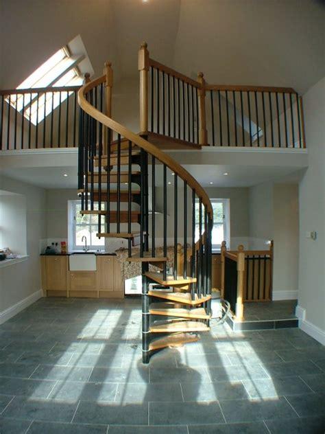 wooden handrails british spirals castings