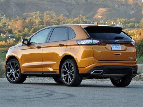 comparison buick envision   ford edge sport