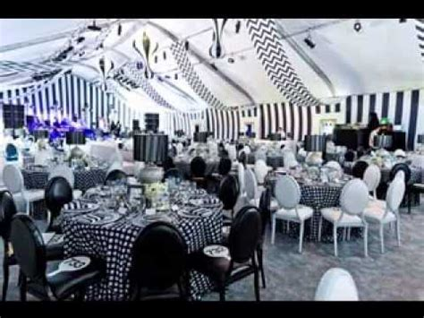 Black And White Birthday Party Decoration Ideas Elitflat