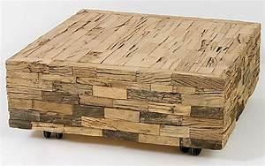 Table Basse Bois Brut : choisir une table basse meuble ~ Melissatoandfro.com Idées de Décoration