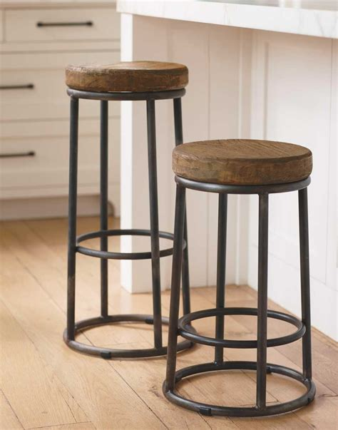 stools for kitchen awesome industrial style bar stools homesfeed