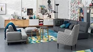 Selection conforama pour un salon vintage for Idee deco cuisine avec magasin mobilier scandinave