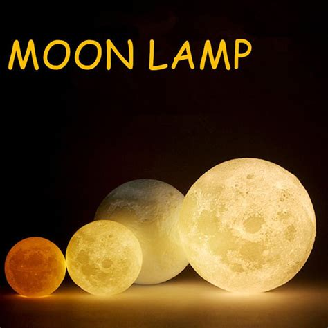aliexpress buy lumiparty simulation 3d moon l led light 3 led 3d print usb