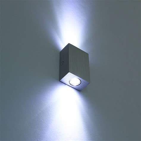led light design contemporary magnificent modern 6w 2 3w led wall l sconce night light fixture