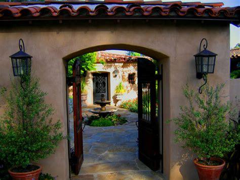 santa barbara home design spanish hacienda style house