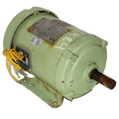 Electric Motor Dealers by U S L984 1 5 Hp 3600 Rpm 208 230 460 Volts Tefc