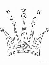 Crown Coloring Pages Printable Bright Choose Colors Favorite sketch template