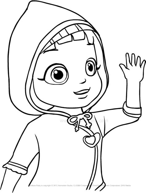 rainbow ruby  printable coloring pages colorpagesorg