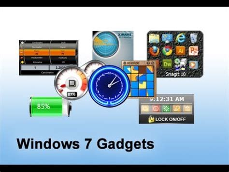 How To Fix Missing Gadgets In Windows 7 Youtube