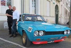 Paris Angers Voiture : angers une ford capri de 1973 au d part du tour auto courrier de l 39 ouest ~ Maxctalentgroup.com Avis de Voitures
