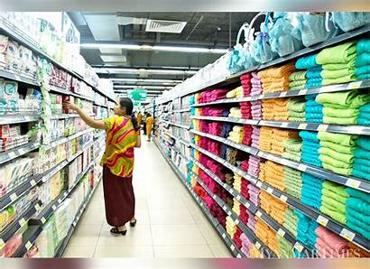 Wholesale Retail Mart Yangon Unabated Sector Continues