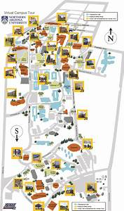 Northern Arizona University Mobile Interactive Campus Map