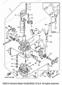 Yamaha Motorcycle 1998 Oem Parts Diagram For Carburetor
