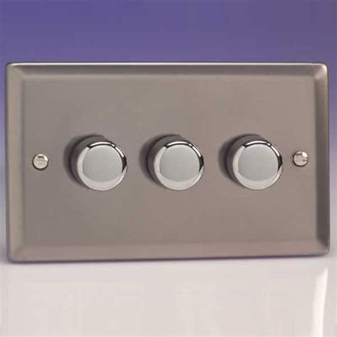 light dimmer switch varilight 3 1 way 3x250w rotary dimmer light switch