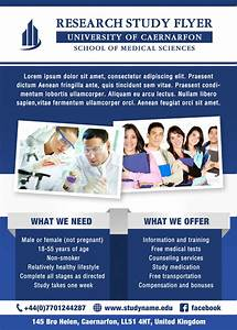 Research study flyer template by silentmojo on deviantart for Research study flyer template