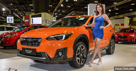 Subaru Xv To Receive Eyesight Safety System In Malaysia By