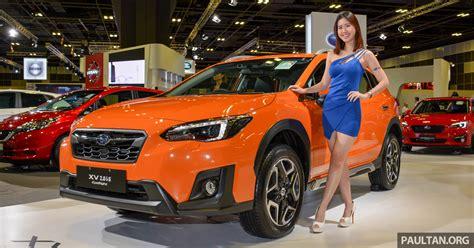 Subaru Xv To Receive Eyesight Safety System In Malaysia By