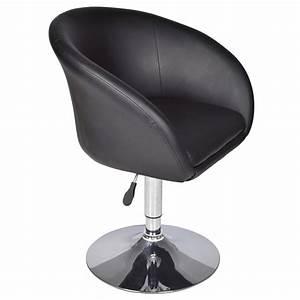 Fauteuil Pivotant Design : fauteuil pivotant rond fauteuil noir interougehome ~ Teatrodelosmanantiales.com Idées de Décoration