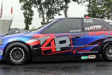 4p Livery Honda Civic Race Car  Skepple Inc
