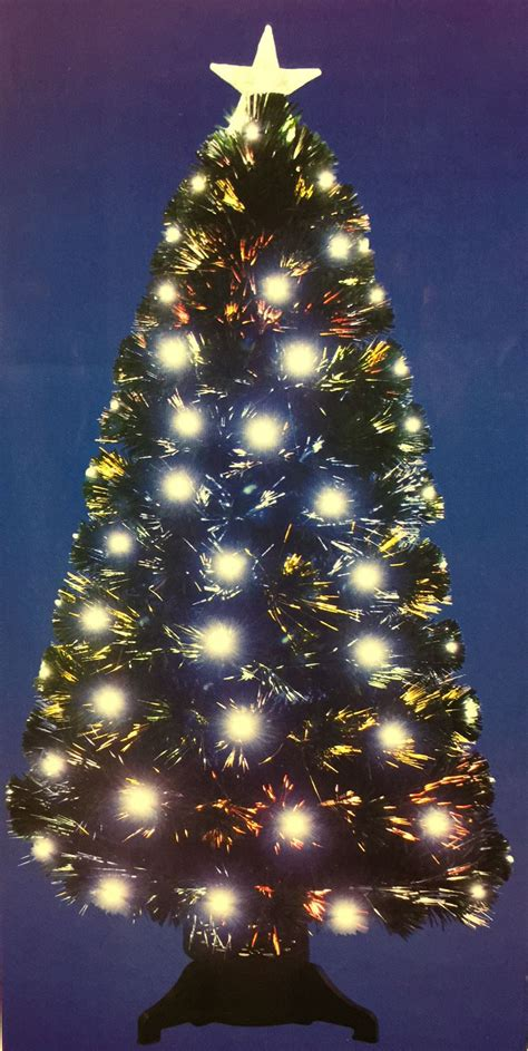 Fibre Optic Christmas Trees Sale Black 6ft by 6ft 180cm Christmas Tree In Black Green Gold Fibre Optic