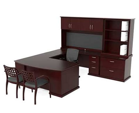 bureau ch麩e modern u shaped executive office suite ch e 420 desks