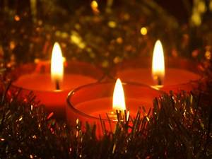 1280x1024 Christmas Candles desktop PC and Mac wallpaper