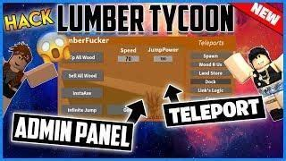 roblox hack lumber tycoon  gui  admin insta