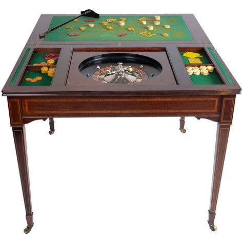 roulette table for sale the edwardian king 39 s roulette card and games table