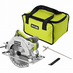 Ryobi 15 Amp Corded 7 4 In  Circular Saw With Exactline