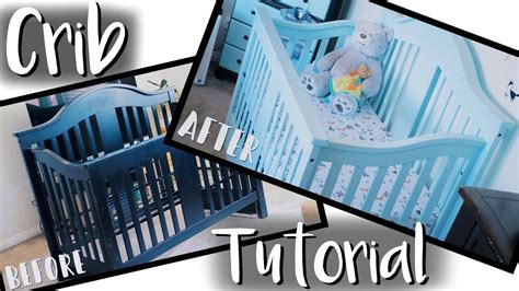 Baby Biting Crib Paint by Diy Baby Crib Makeover On A Budget How To Paint A Crib