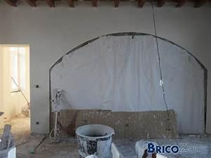 Rabot A Placo : plafonner un arrondi sur un mur ~ Premium-room.com Idées de Décoration