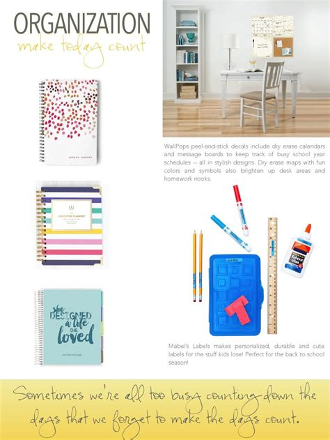 Office Supplies To Make Easier by Back To School Guide 2015 Bhg S Time Savers For Busy