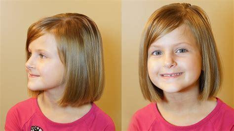 How To Do A Bob Cut // Short Hair Tutorial // Girls