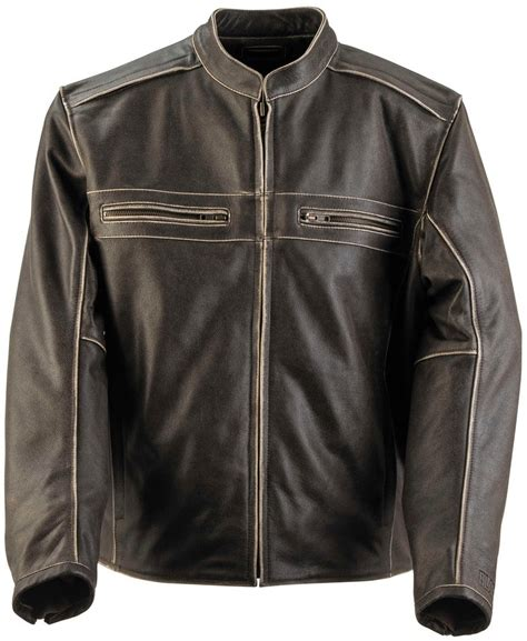 discount motorcycle jackets 300 00 black brand mens two lane leather jacket 264610