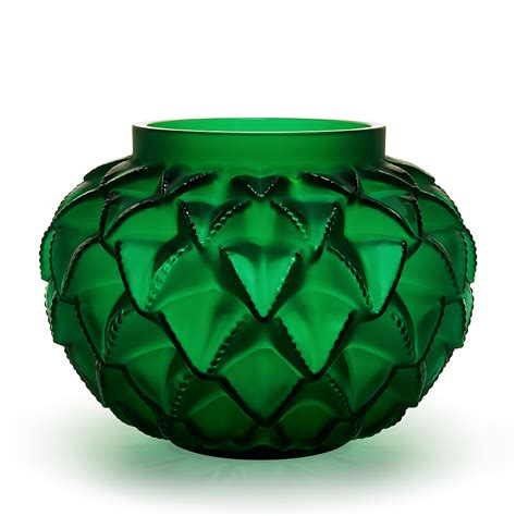 Green Vase by Languedoc Grand Vase Numbered Edition Green