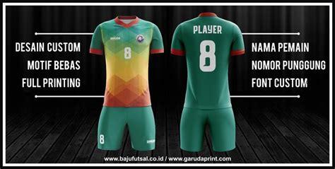 desain jersey futsal  bagus  team garuda print